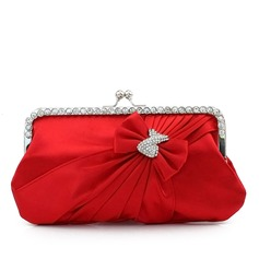 Charming Silk Clutches (012016317)