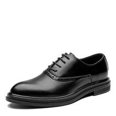 Miesten Keinonahasta Cap Toes Juhlakengät Miesten oxford-kengät (259173572)