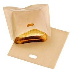 Modern Classic Non Stick uudelleenkäytettäviä leivänpaahtien laukut voileipää ja grillata (Sarja 6) Ei ole Henkilökohtaista Lahjat (129140465)