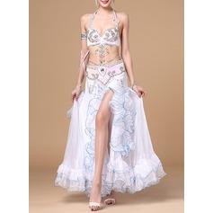 Женщины Одежда для танцев хлопок полиэстер шифон Танец живота Инвентарь (115086453)