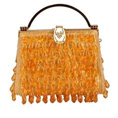 Gorgeous Satäng med Akryljuveler mode handväskor (012048444)