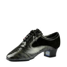 Мужская Натуральня кожа Практика Обувь для танцев (053116033)
