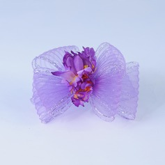 ручной работы Искусственного шелка/чистая пряжа Цветы и перья (042048118)
