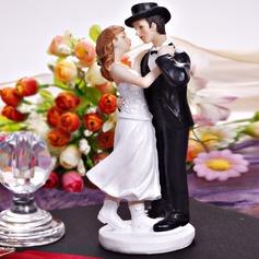 Dança do casal Resina Casamento Decorações de bolos (122036193)