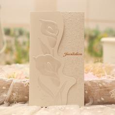 Estilo clásico/Florales Estilo Tri-Fold Tarjetas de invitación (Juego de 50) (114091444)