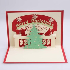 Three-dimensional Merry Christmas Greeting Cards (114059167)
