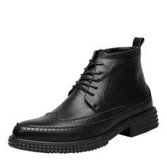 Мужская натуральня кожа Chukka вскользь Men's Boots (261172197)