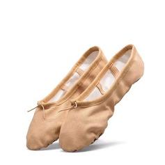 Vrouwen Zeildoek Flats Ballet Dansschoenen (053124199)