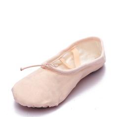 Vrouwen Zeildoek Flats Ballet Buikdansen Dansschoenen (053126009)