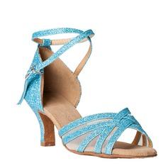 Femmes Pailletes scintillantes Sandales Latin Chaussures de danse (053012991)