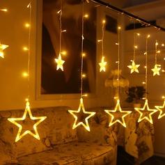Projeto da estrela Bonito PVC Luzes LED (conjunto de 12) (131152218)