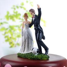Спорт Пара смола Свадьба Фигурки для торта (122036155)