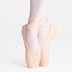 Женщины Холст На плокой подошве Обувь Пуанты Обувь для танцев (053121968)