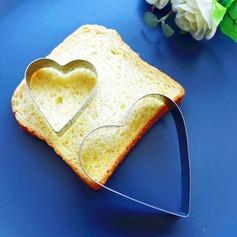 Coração dentro de um coração/Coração deu forma Coração deu forma Metal Bolo e Cookie Cutter Mold (Conjunto de 2) (051163640)
