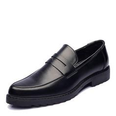 Мужская кожа из микроволокна Пенни Лоафер вскользь Men's Loafers (260173568)