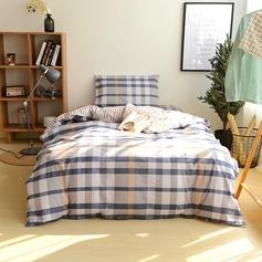 simples elegante clássico Algodão Cama e banho (3pcs: 1 capa de edredão 1 lençol 1 fronha) (203169396)