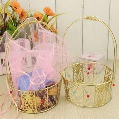 Basket Boîtes cadeaux/Gâteau Boîtes avec Rubans (Lot de 2) (050032570)