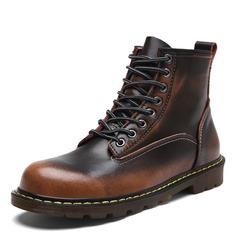 Мужская натуральня кожа Chukka вскользь Men's Boots (261172208)