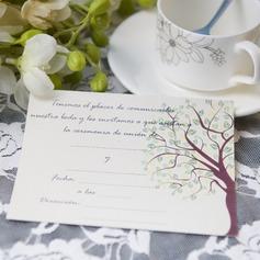 современный стиль Плоская карта Invitation Cards (набор из 50) (114063990)
