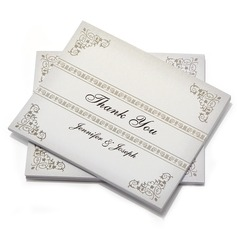 Personalized Modern Style Thank You Cards (Set of 50) (114054979)