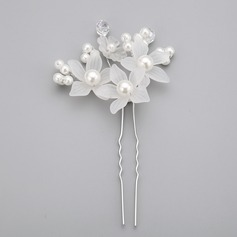 Цветочный образный Перлы ложный/акрил заколки (Продается в виде единой детали) (042062380)