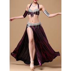 Kvinner Danseklær Bomull Polyester Chiffong Magedans Drakter (115086473)