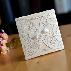 Personalizado Papel cartão Cartões de convite com Fitas (Conjunto de 50) (118031585)