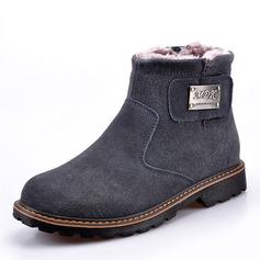 Menn Semsket Snø støvler Avslappet Boots til herre (261172581)