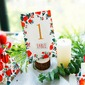 4pcs Wooden Card Holder DIY Wedding Decoration R: 3-4cm H: 2cm (Set of 4) (051155715)