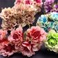 Nizza/Bella/Disegno del fiore Piuttosto Plastica Fiori Artificiali (Set di 60) (131174659)
