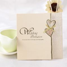 sydän tyyli Z-taitto Invitation Cards (Sarja 50) (114032364)