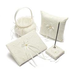 Set de colección en Satén con Bordado/La perla de faux (100017982)