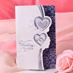 sydän tyyli Tri-Fold Invitation Cards (Sarja 50) (114033289)