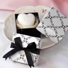 En forma de corazón Jabones con Cintas/Colgante (051015915)