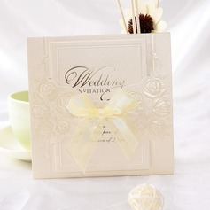 Classic tyyli Wrap & Pocket Invitation Cards jossa Nauhat (Sarja 10) (114032369)