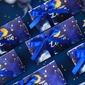 Luova/Dreamry kolmion muotoinen Paperi-kortti Suosikit ja kontit jossa Nauhat (Sarja 24) (050203433)