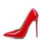 De mujer Piel brillante Tacón stilettos Salón zapatos (085095662)